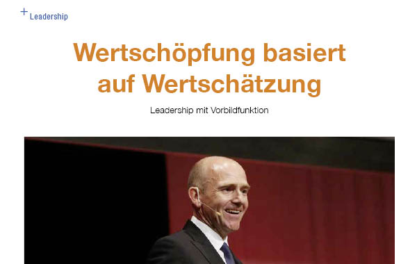 Vorbildfunktion Leadership
