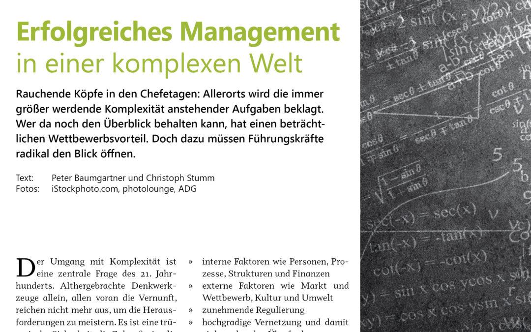 Erfolgreiches Management in einer komplexen Welt